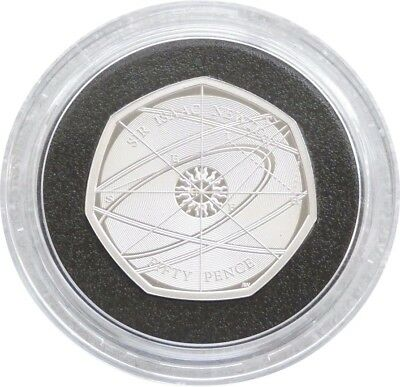 2017 Royal Mint Sir Isaac Newton 50p Fifty Pence Silver Proof Coin Box Coa