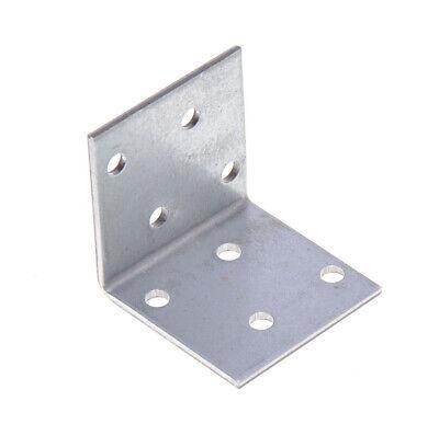 Winkel 40x40x40 B 8,4 Stahl schwarz pulverbesch.