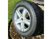Suzuki Grand Vitara Alloy Wheel and Tyre