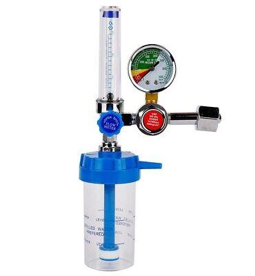 Medical Oxygen Cylinder Regulator Pressure Flowmeters Gauge Valve Healthcare