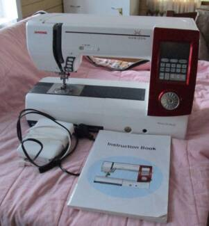 Janome Horizon Memory Craft 7700 QCP Sewing Embroidery Quilting Cootamundra Cootamundra Area Preview