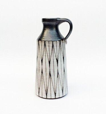 Wilhelm und Elly Kuch - Keramik - Vase - Künstlerkeramik - 50er/60er Jahre  17cm