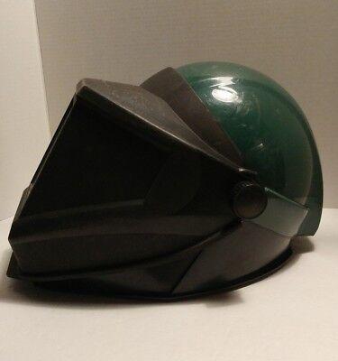 3m Welders Helmet W Flip-up Shield And Protective Collar
