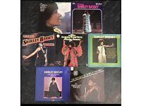 7 x vintage Shirley bassey vinyl records