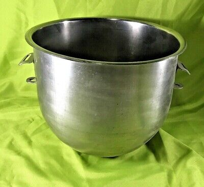 Don 18-8 Stainless Steel Mixer Bowl 20 Quart Hobart Replacement 11.5 Tall