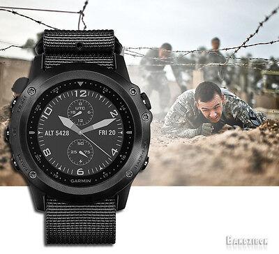 Garmin Tactix Bravo Running Multi Sport Fitness Tactical Gps Watch   Nylon Strap
