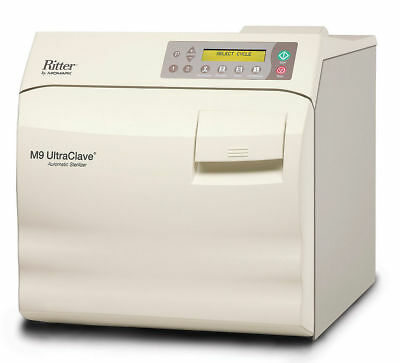 New Ritter Midmark M9 Ultraclave Steam Sterilizer Fully Automatic M9-022