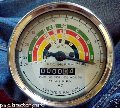 Anti Clock Wise Fordson Super Major 1964 Tachometer - 80 Mm Fitment Size