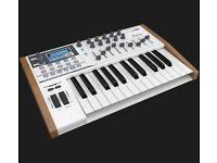 Arturia/M-Audio/Ableton studio equipment.