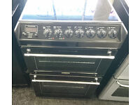 *42* black tricity bendix 55cm ceramic electric oven comes with warranty can be delivered or coll
