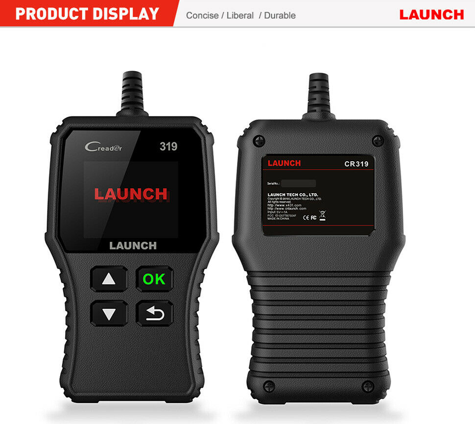 Owner Automotive OBD Code Reader OBD2 Scanner Car Check Engine Fault Diagnostic Tool
