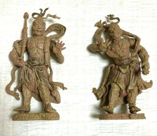 "Buddhist Statues Collection ""Statue of Kongo Rikishi (Statue of Nio)"" Japan"
