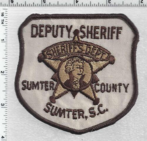 Sumter County Sheriff (South Carolina) 2nd Issue Shoulder Patch