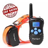 Dog Training Shock Collar With Remote Control 100 Level Shock Vibration Beep