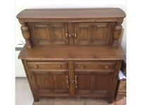 ERCOL SIDE DRESSER CABINET DINING ROOM EXCELLENT CONDITION