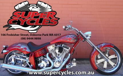 PRO ONE DOMINATOR 114 CU/INCH RED/SILVER NOT HARLEY DAVIDSON Osborne Park Stirling Area Preview