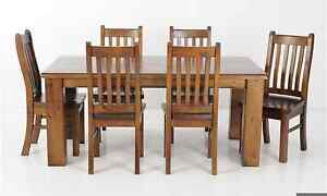 Settler 7 piece dining set Lara Outer Geelong Preview