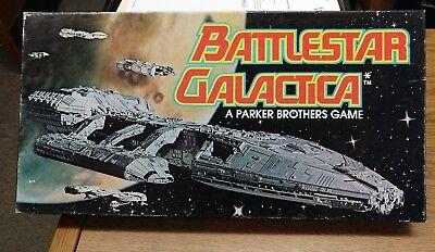 Vintage Star Wars Battlestar Galactica Board Game, 1978, NRMNT, Parker Bros