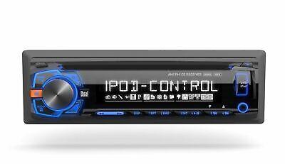 NEW DUAL XDMA460 1 Din AM/FM CD/MP3 Player Car Receiver USB AUX Input Detachable