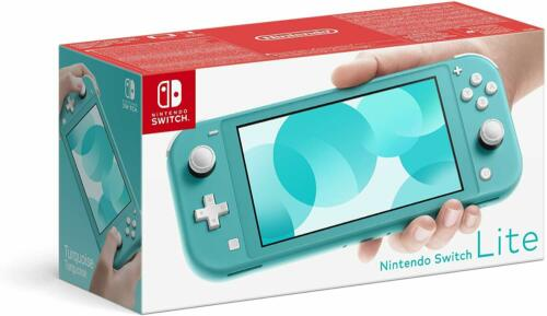 Nintendo+Switch+Lite+Handheld+Gaming+Console+Kids+Gamer+-+Turquoise+-+New