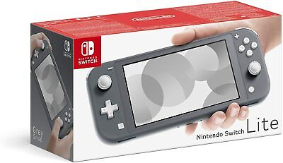 Nintendo Switch Lite Console GREY ** Brand New ** FAST FREE DPD DELIVERY **