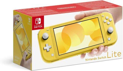 Brand+New+Nintendo+Switch+Lite+Handheld+Console+-+Yellow+UK+Stock