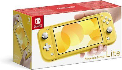 New Nintendo Switch Lite Yellow UK