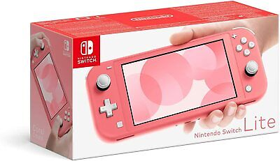 Nintendo Switch Lite Console CORAL ** Brand New ** FAST FREE DPD DELIVERY **