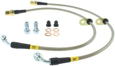 StopTech 950.62011 Stainless Steel Braided Brake Hose Kit Fits 10-15 Camaro