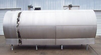 Griton Ambassador 4000 Gallon Stainless Steel Bulk Milk Tank