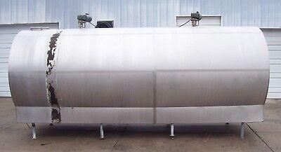Girton Ambassador 4000 Gallon Stainless Steel Bulk Milk Tank