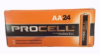 Duracell Procell PC1500 Alkaline AA Batteries 24 Batteries 1 Box of 24