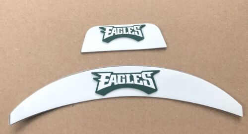 Philadelphia Eagles Front And Rear Helmet 3D Bumpers For Ful