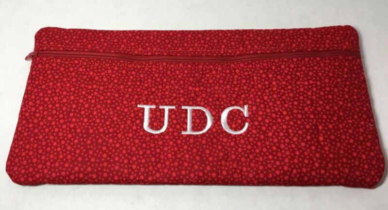 United Daughters of the Confederacy, UDC Insignia Pin Pouch, DAR