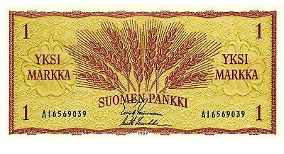 Finland ... P-98 ... 1 Markka  ... 1963 ... CH*UNC*  Sing variety.