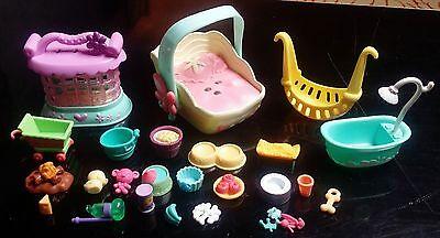 Littlest Pet Shop Play Toys, Carriers & Accessories Lot 002