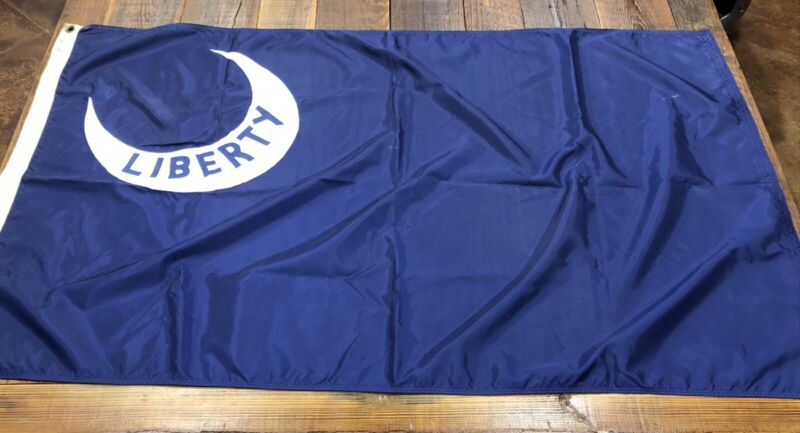 Boy Scout Liberty Banner. Used At 1985 National Jamboree?