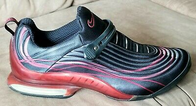 d3f1db4616 RARE VINTAGE Nike Air Max Specter Shoes 673367 061 Sz 12 2001 Black/Red  Like New