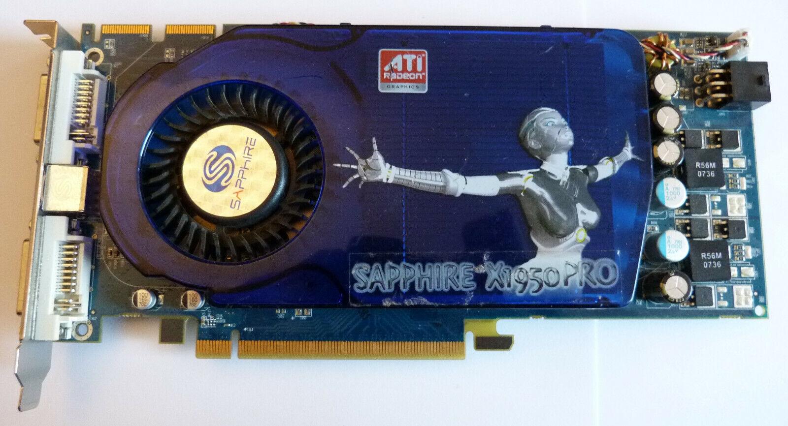 Sapphire ATI Radeon X1950 Pro 512 MB DDR3 PCI-E Grafikkarte B-Ware