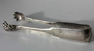 PINZA PER ZUCCHERO IN ARGENTO MASSICCIO - 950/1000 - PUNZONE MINERVE - 55 g