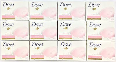12pk Dove Pink Rosa Soap Moisturizing Beauty Cream Bar 4.75oz (135g)