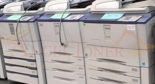 Toshiba E-studio 556 Mono Mfp Laser Copier Printer Scanner 55 Ppm A3 Tabloid