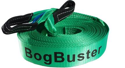 BOGBUSTER WINCH EXTENSION STRAP RECOVERY OFF ROAD 4X4 SNATCH 20 M