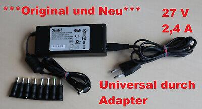 4a Netzteil (***Original*** Neu UNIVERSAL Teufel Schaltnetzteil 27V 2,4 A Power Adapter )