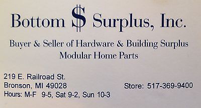 Bottom Dollar Surplus Inc