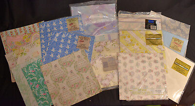 Anniversary Wedding Gift Wrap - Vintage WEDDING + Anniversary Gift Wrap Paper HUGE LOT - some sealed NIP