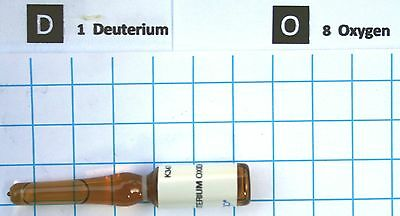 0.75cc Deuterium Oxide 99.97% purity in glass ampoule heavy water
