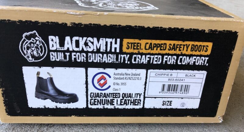 78f0a60ab84 Blacksmith US12 Steel cap safety boots | Men's Shoes | Gumtree ...