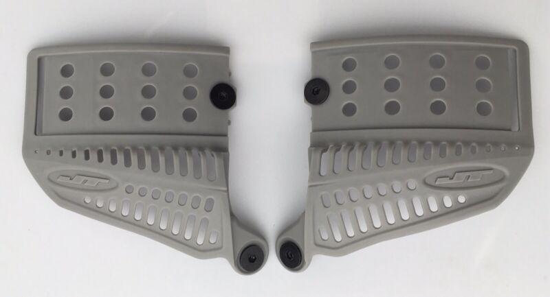 NEW JT Proflex Light Grey GI Revo 2.0 Ear Paintball Mask Goggle Spectra