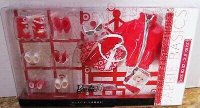 NEW - Barbie Basics COLLECTION RED Look 02 DOLL ACCESSORIES Target SHOES Jacket
